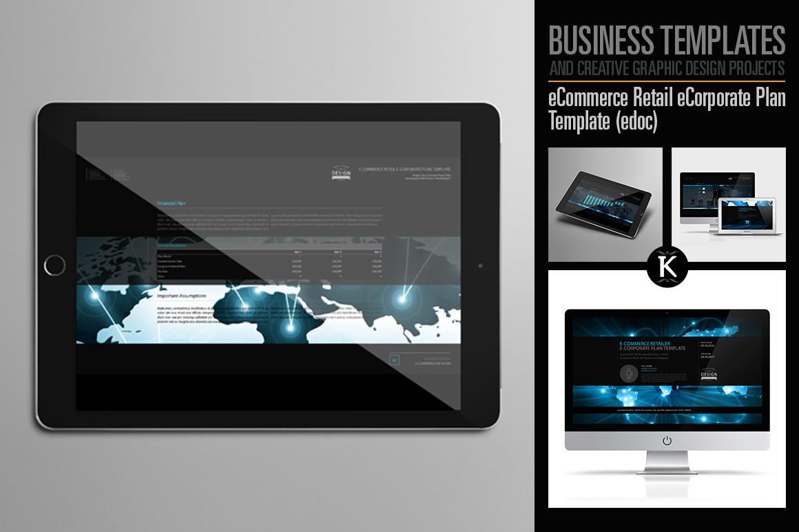 eCommerce Retail eCorporate Plan Template (edoc) example image 1
