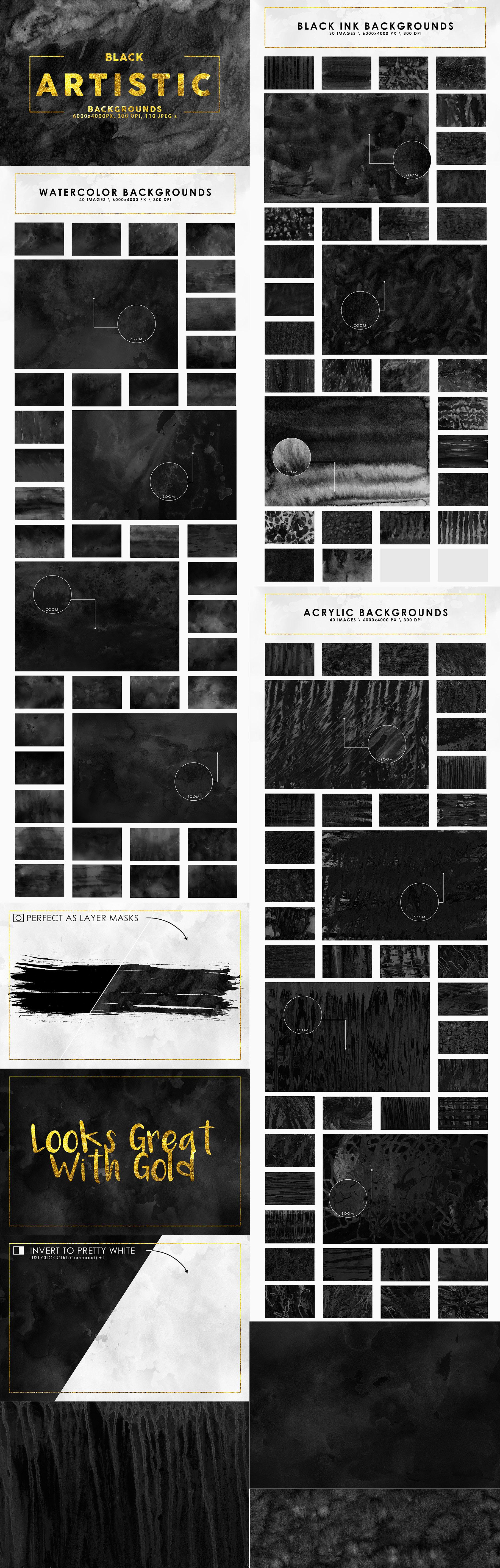 Aesthetic Backgrounds BUNDLE example image 3
