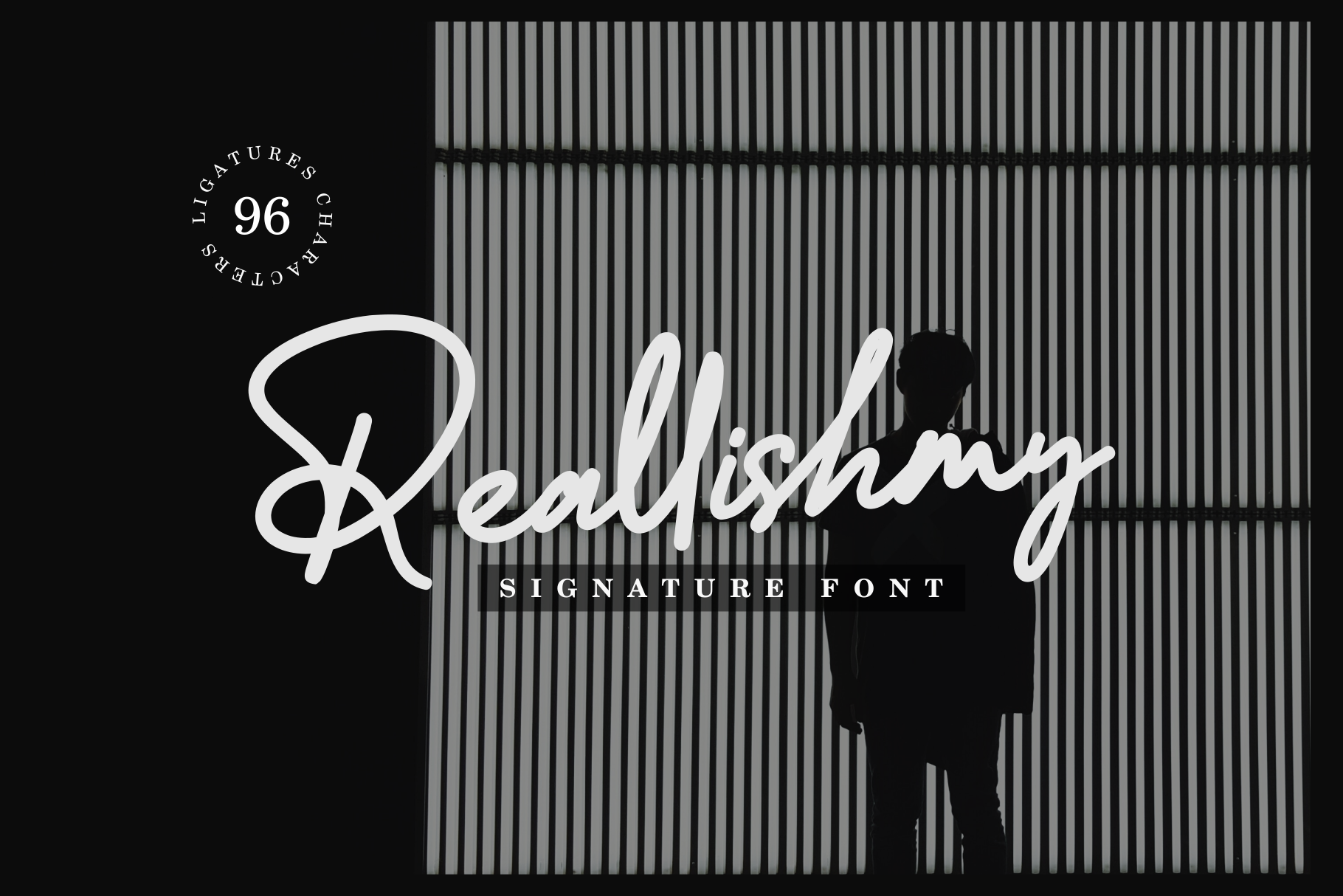 Reallishmy // Signature Font example image 1