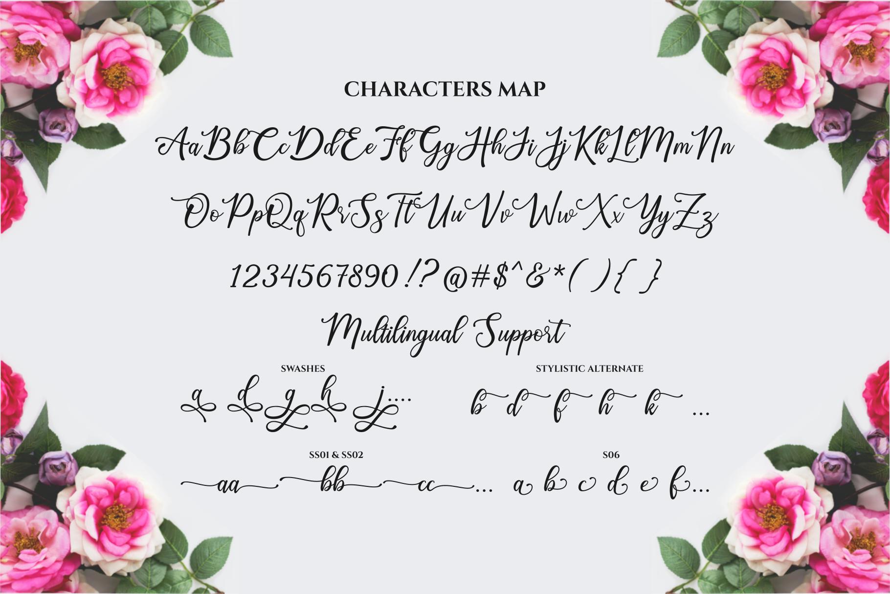 Happy Birthday // Pretty font example image 13