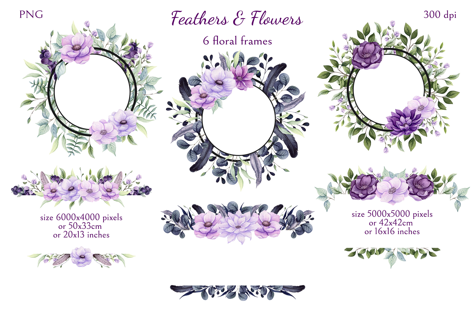 Feathers & Flowers example image 6