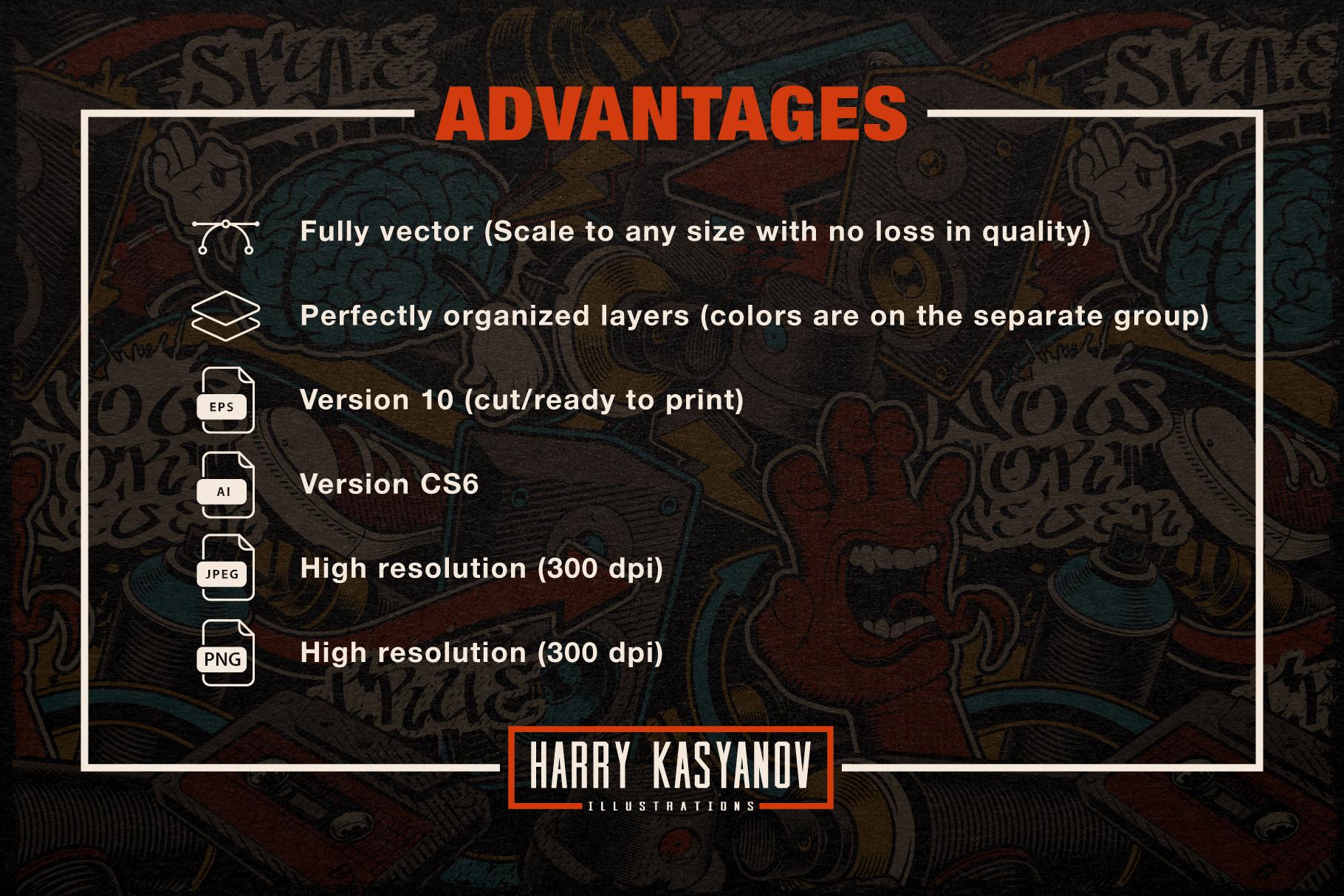 Graffiti Seamless Patterns example image 5