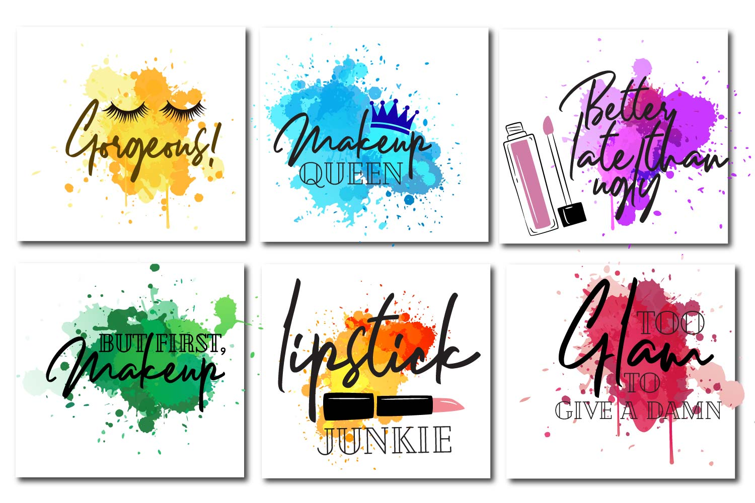 Makeup paint splash Quotes example image 1