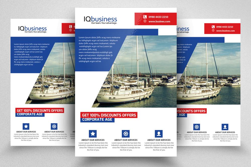 10 Multi use Business Corporate Flyer Bundle 10 example image 6