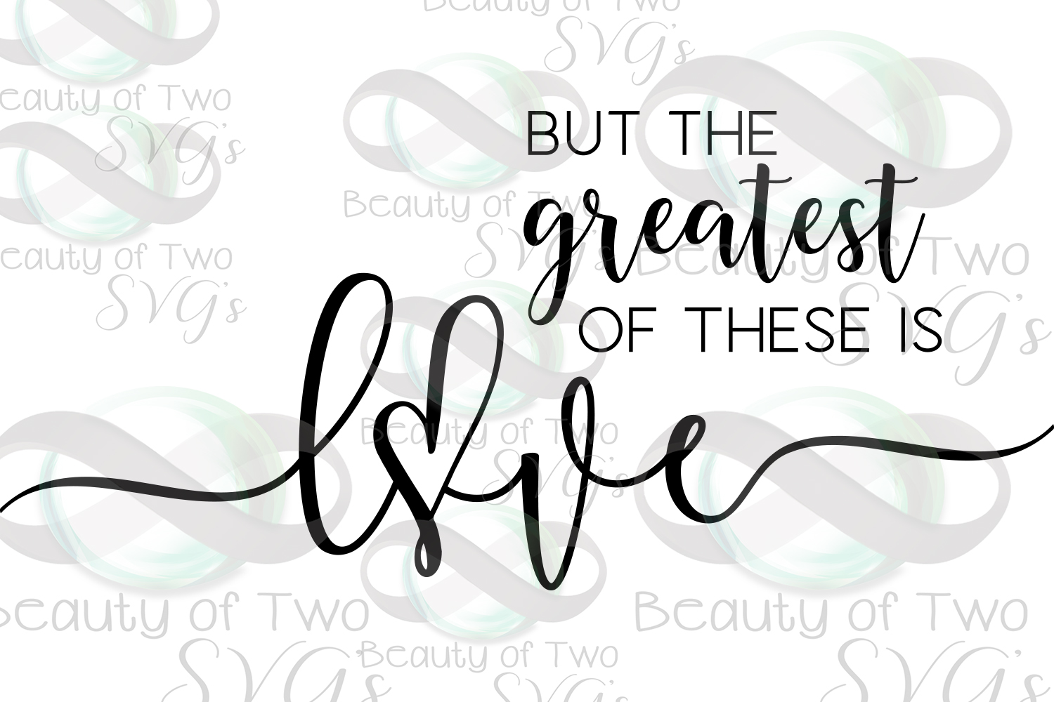 The greatest of these is love Corinthians 13 svg & png example image 2