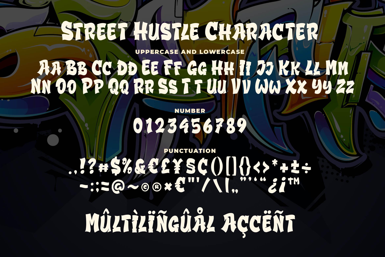 Street Hustle - Graffiti Font example image 5
