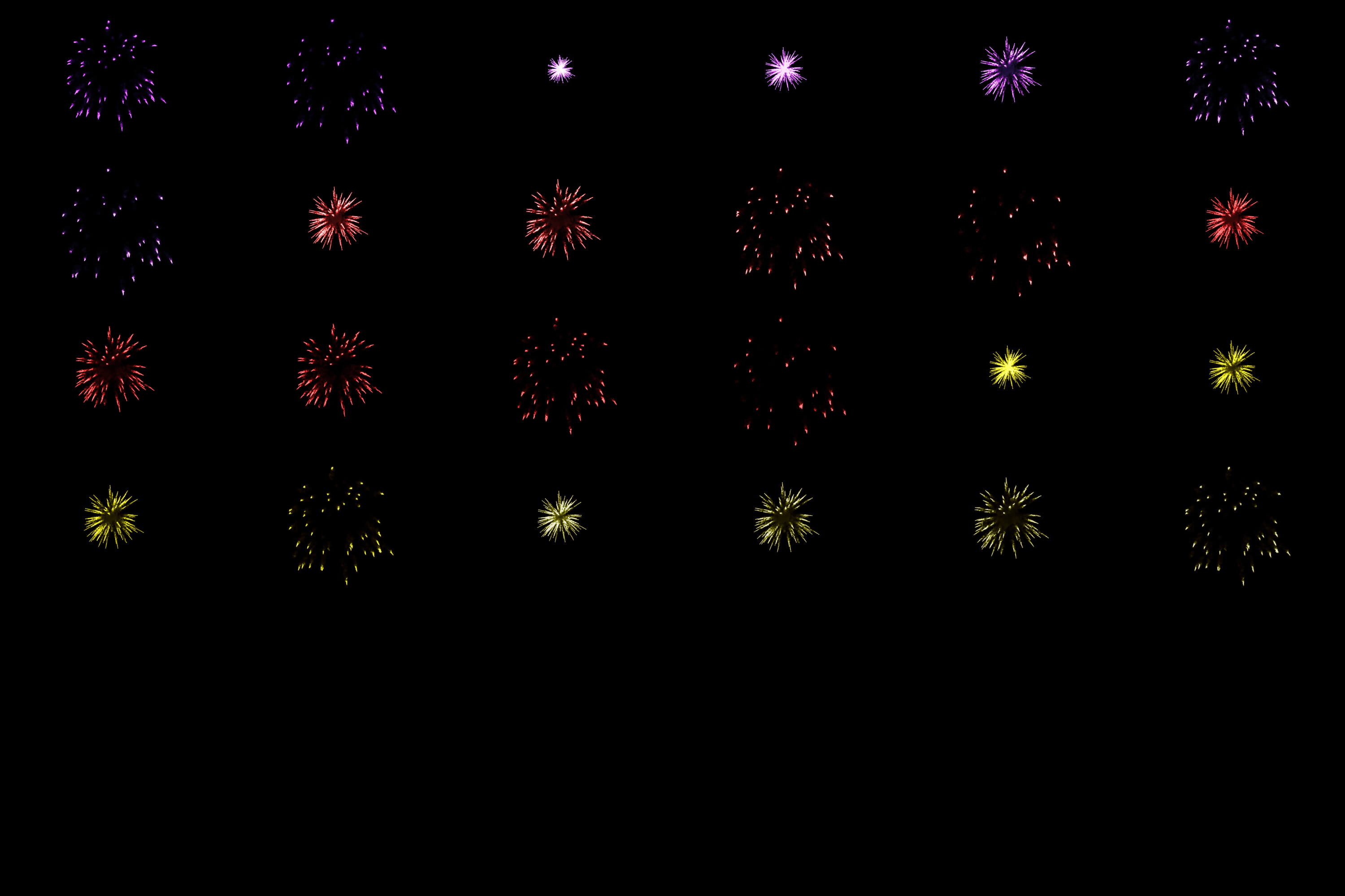60 Firework Christmas Party Overlays example image 2