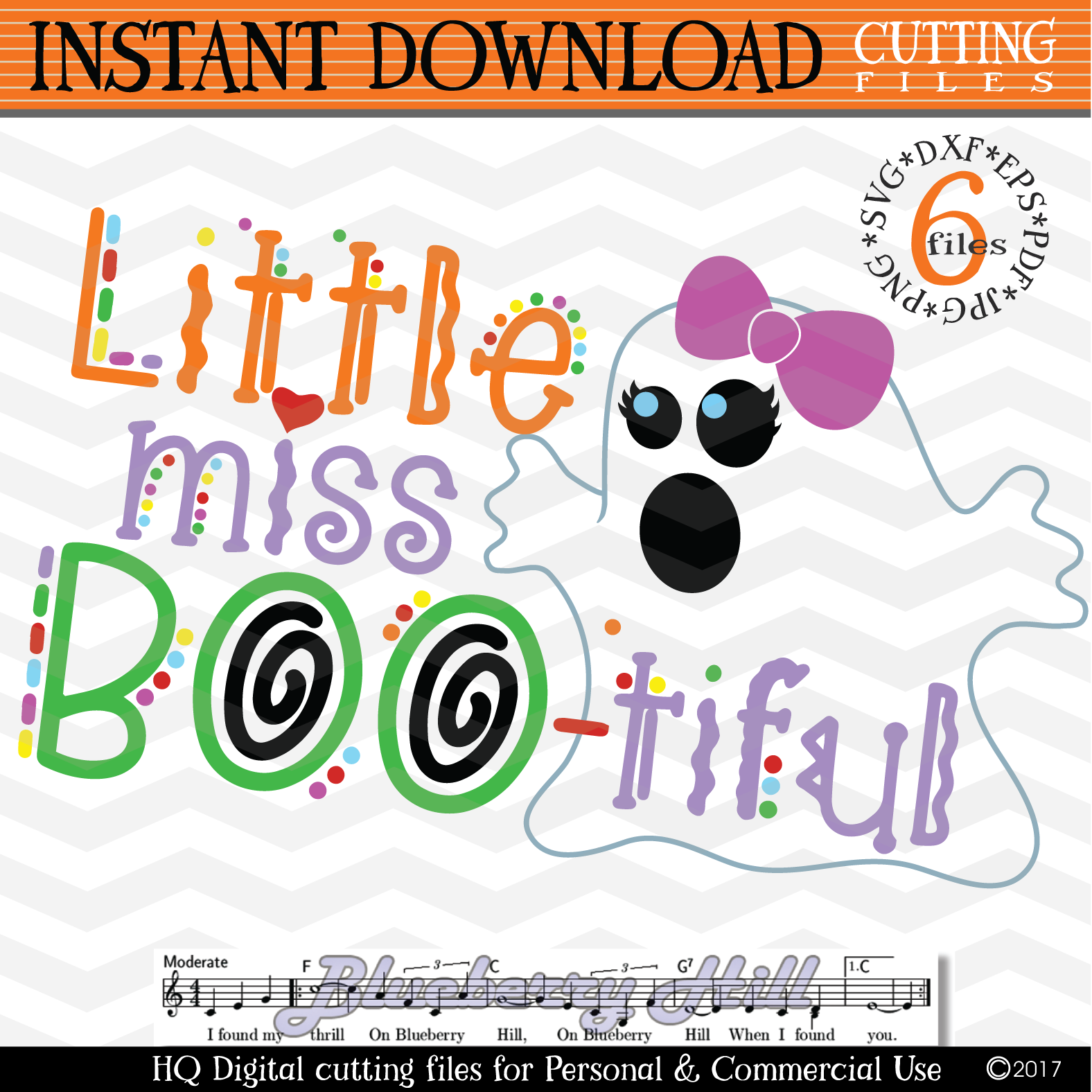 Little Miss Boo svg Girls Halloween svg cutting files example image 2