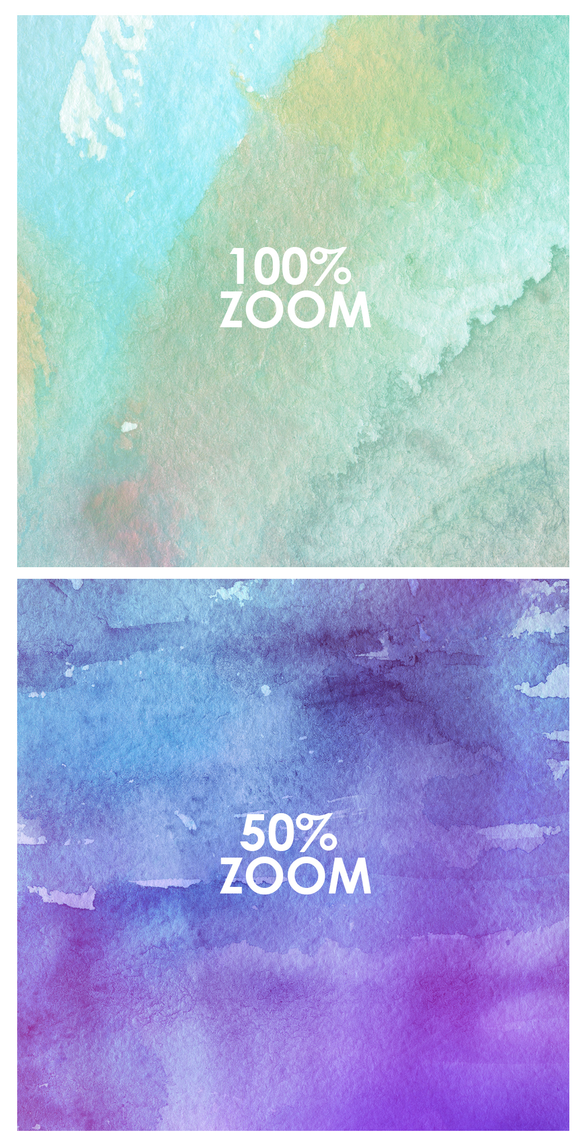 Only Watercolor Backgrounds Bundle example image 11