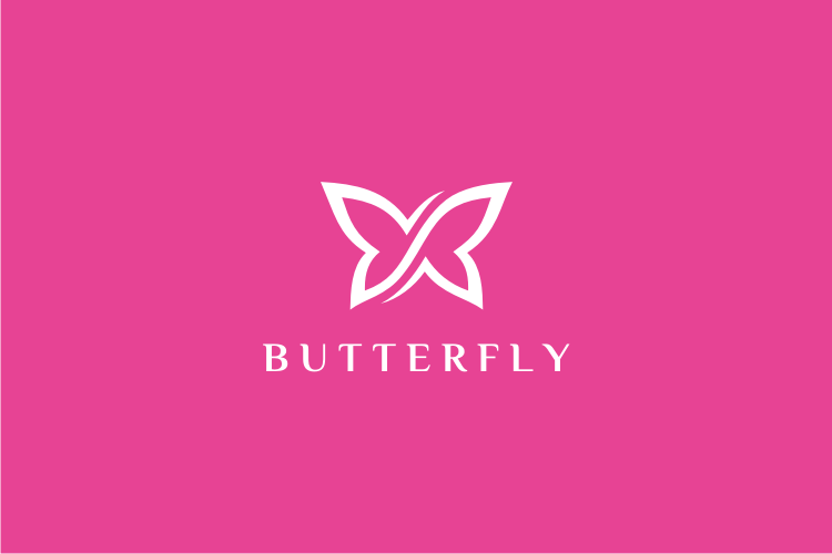 Infinity Butterfly Logo example image 2