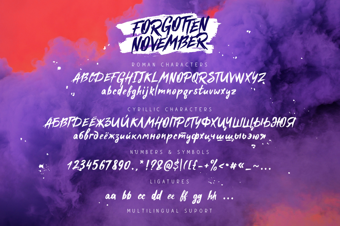 Forgotten November example image 6