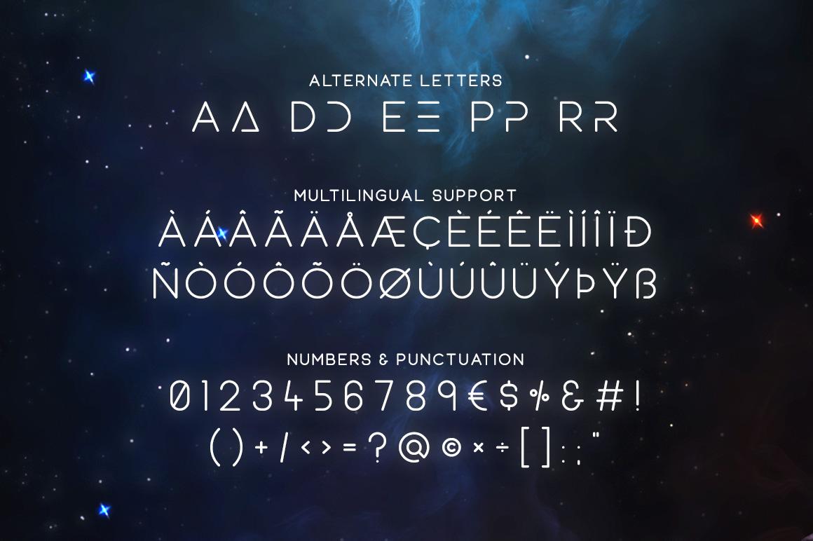Equinox Typeface example image 4