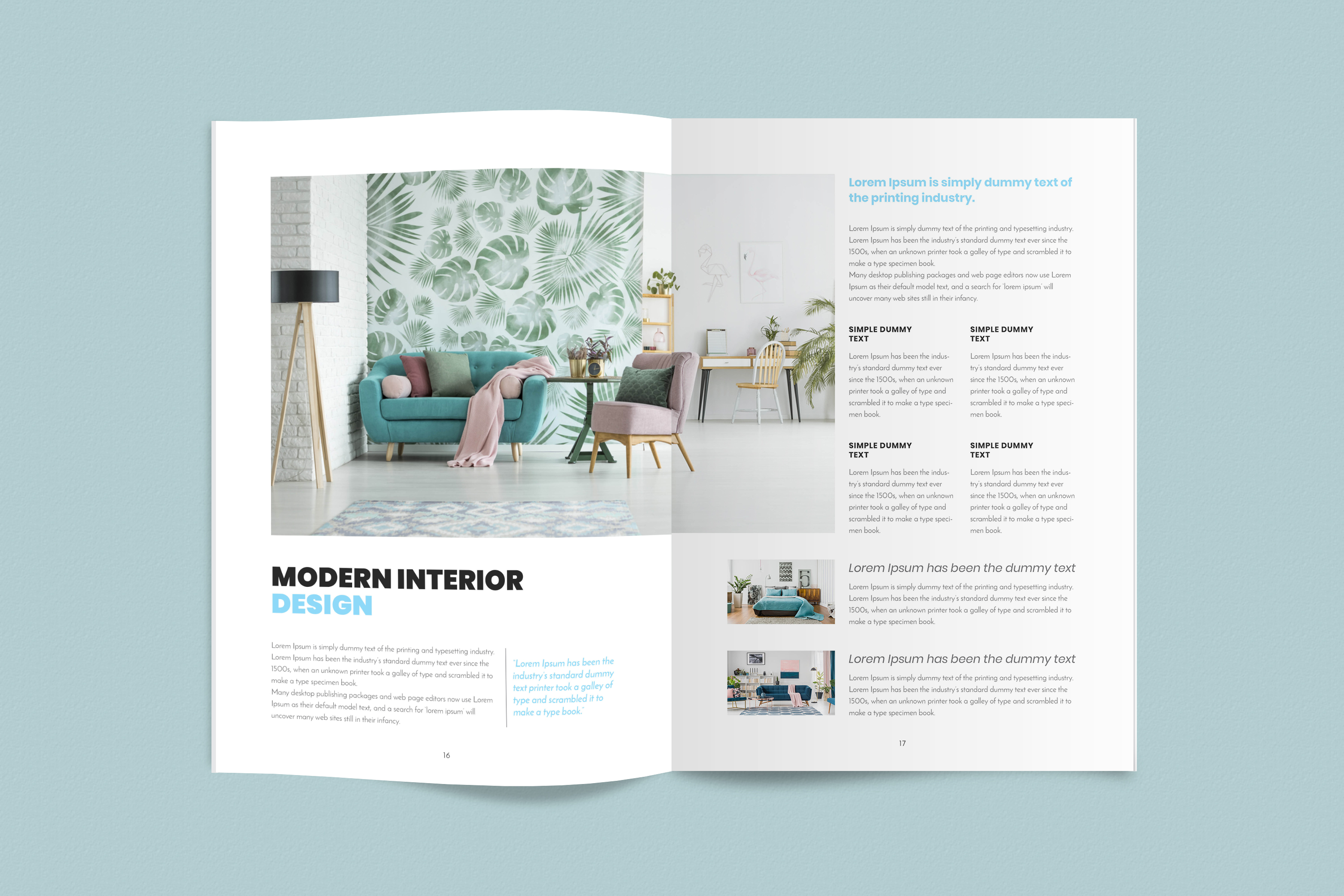 InDesign NANO Magazine Template example image 9
