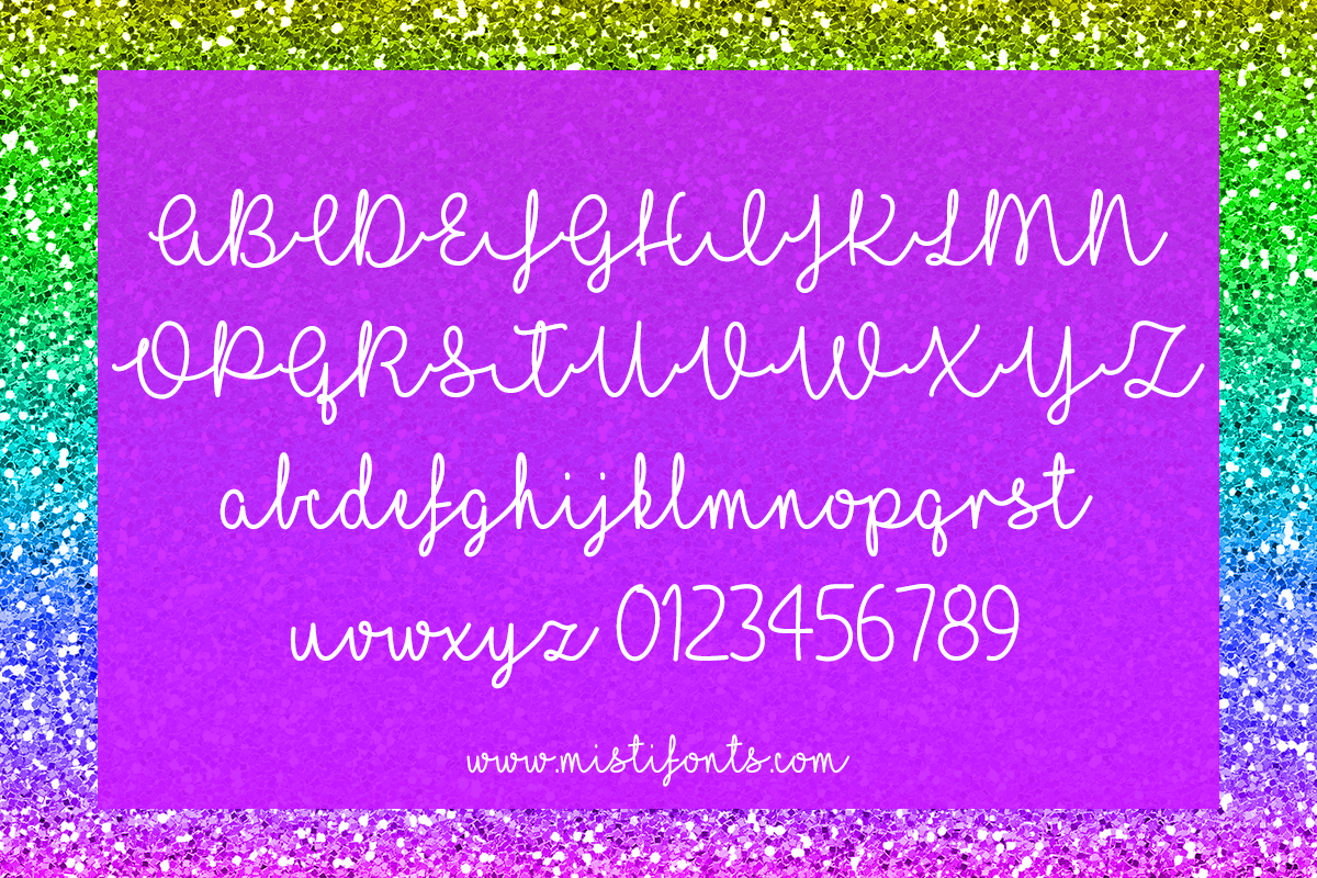 I Love Glitter example image 6