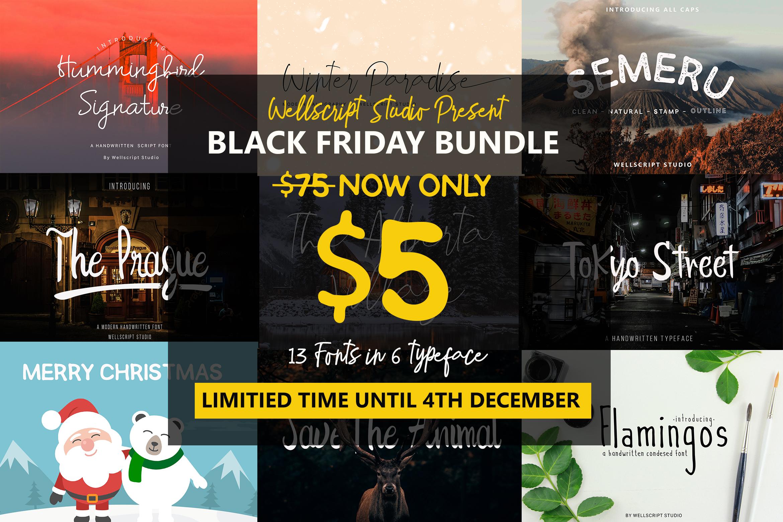 Font Bundles - Special Black Friday example image 1
