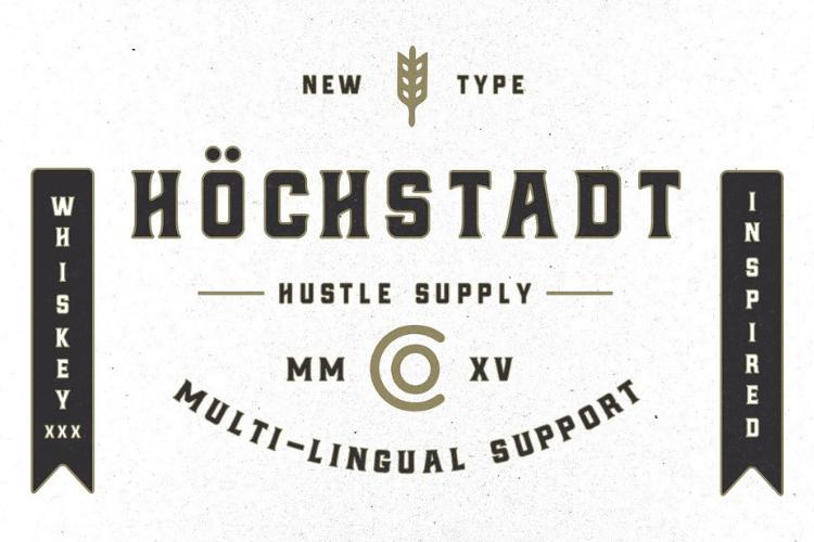 Höchstadt Font example image 1