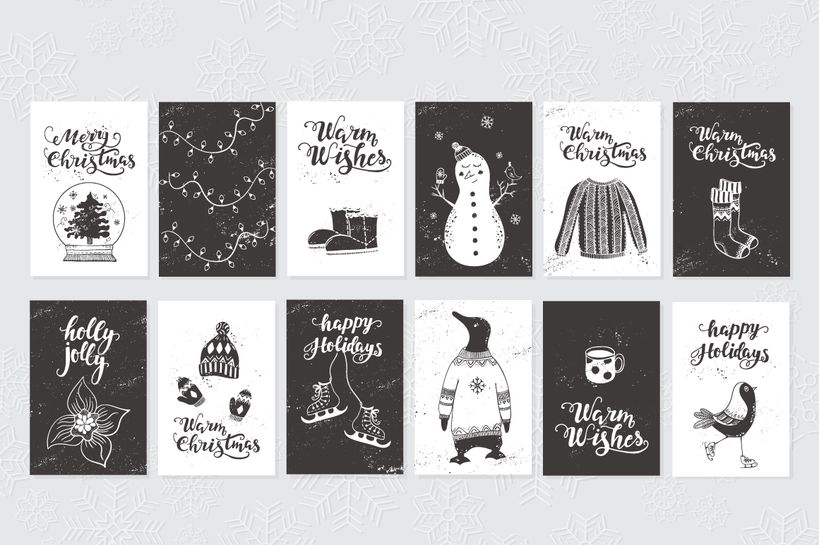 72 Christmas cards example image 6