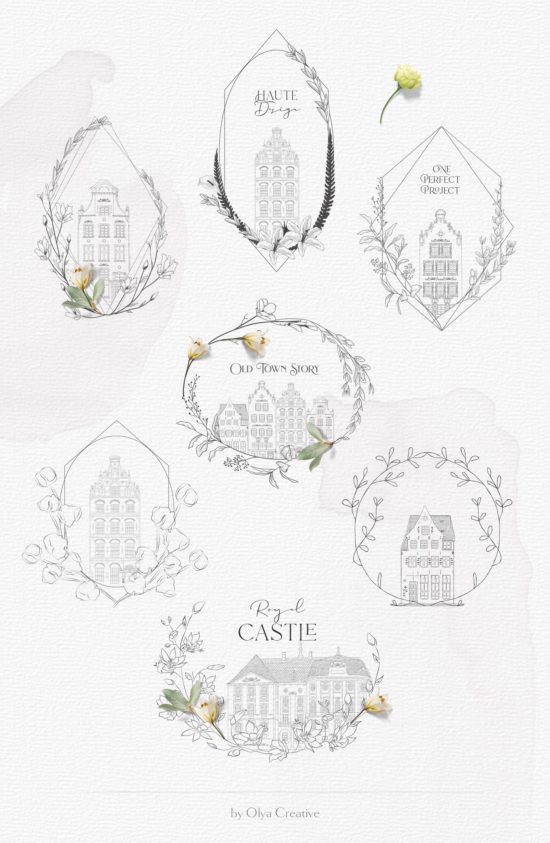 Hand drawn Decorative Illustrations example image 4