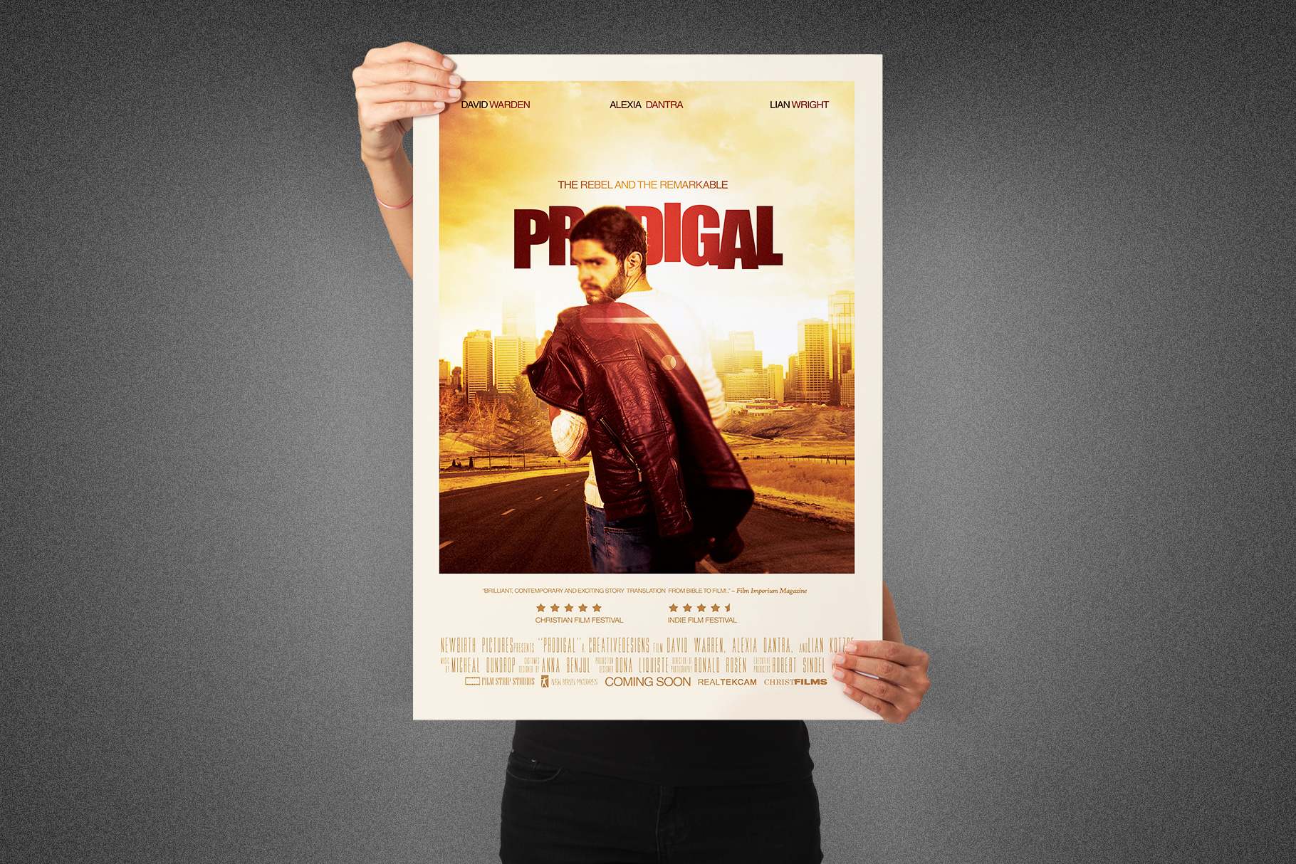 Prodigal Movie Poster Template example image 5