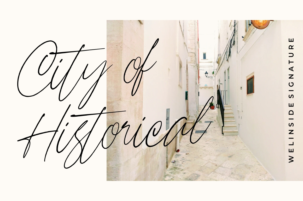 Wellinside - Handwritten Font example image 3