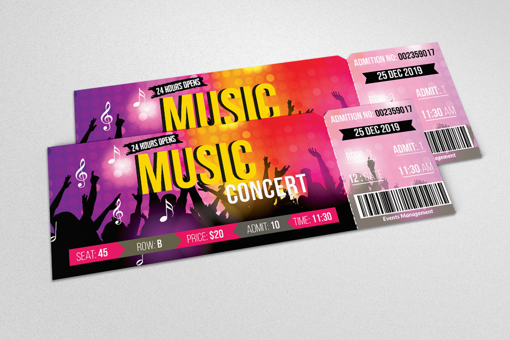 4 Event Party Tickets Bundle example image 5
