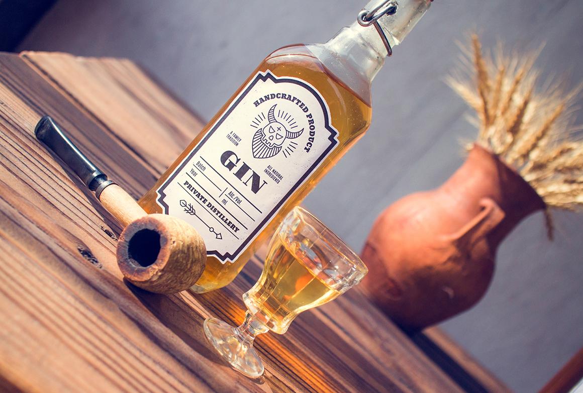 Distilling Industry: Vintage Labels example image 7