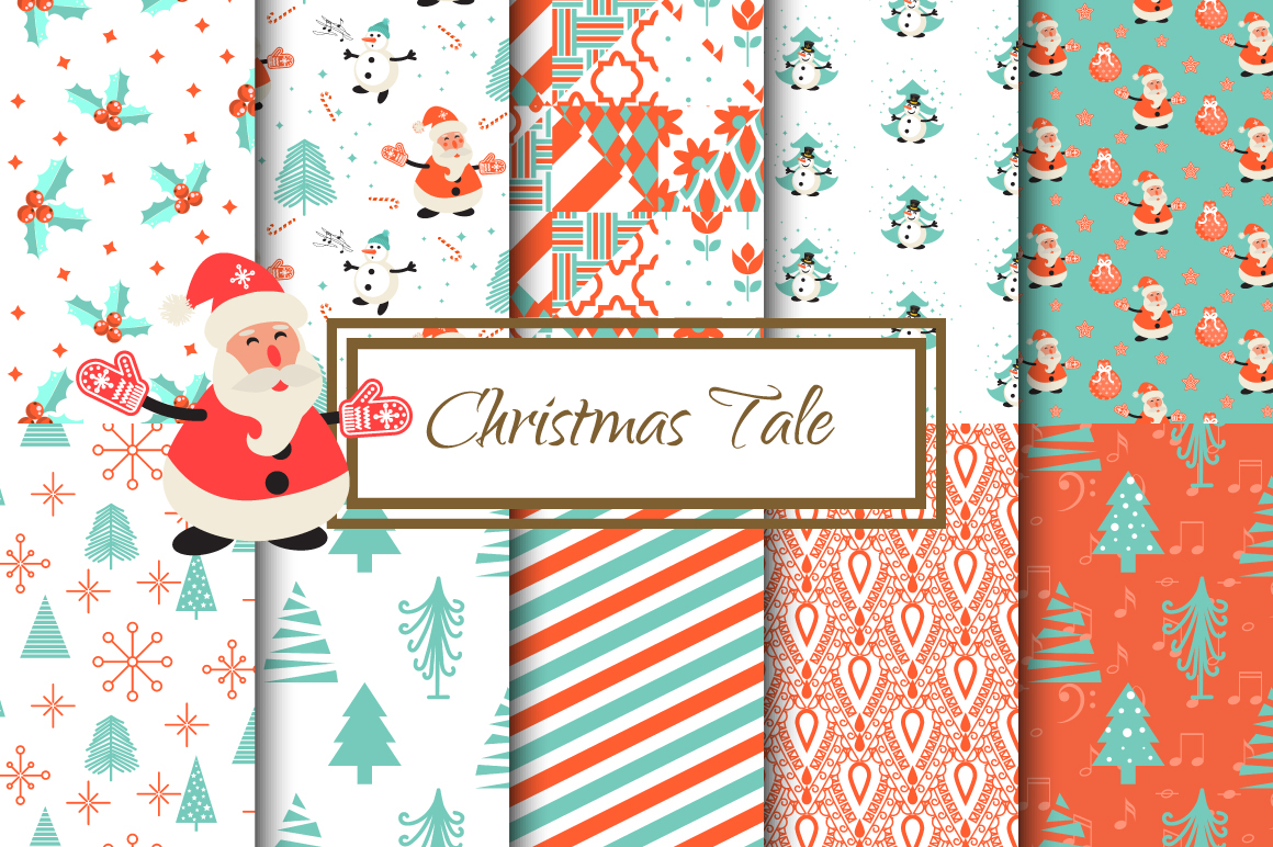 Christmas Tale Patterns example image 1