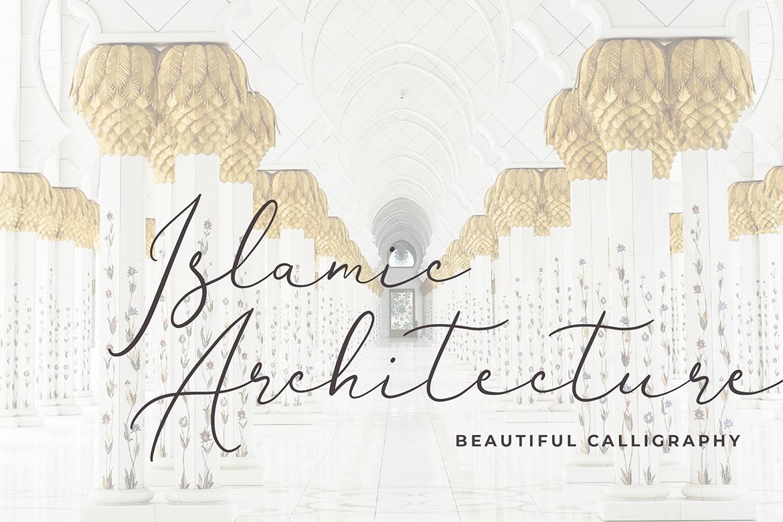 Brianna Qasim Calligraphy Font example image 3