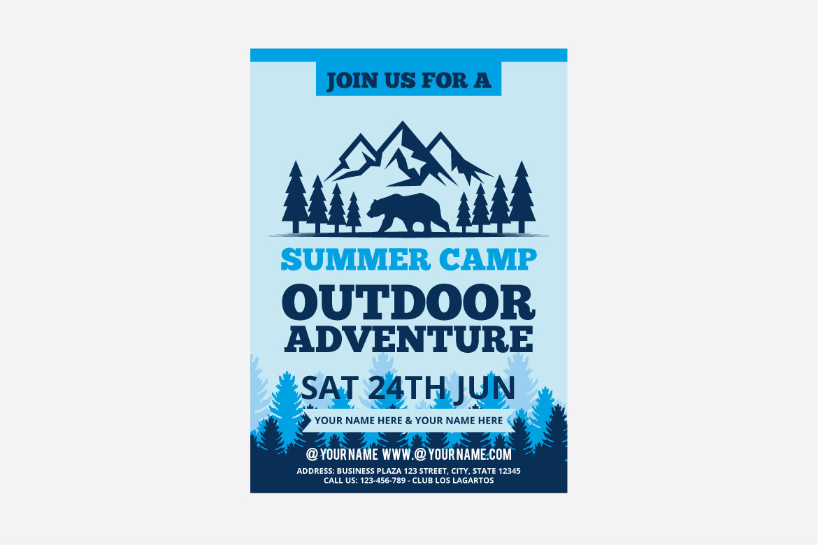 summer camp flyer example image 3
