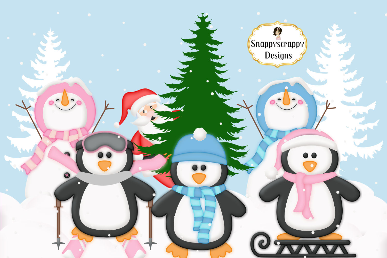 Christmas Clipart example image 3