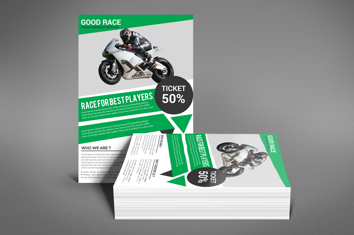 Motor Cycle Flyer example image 4