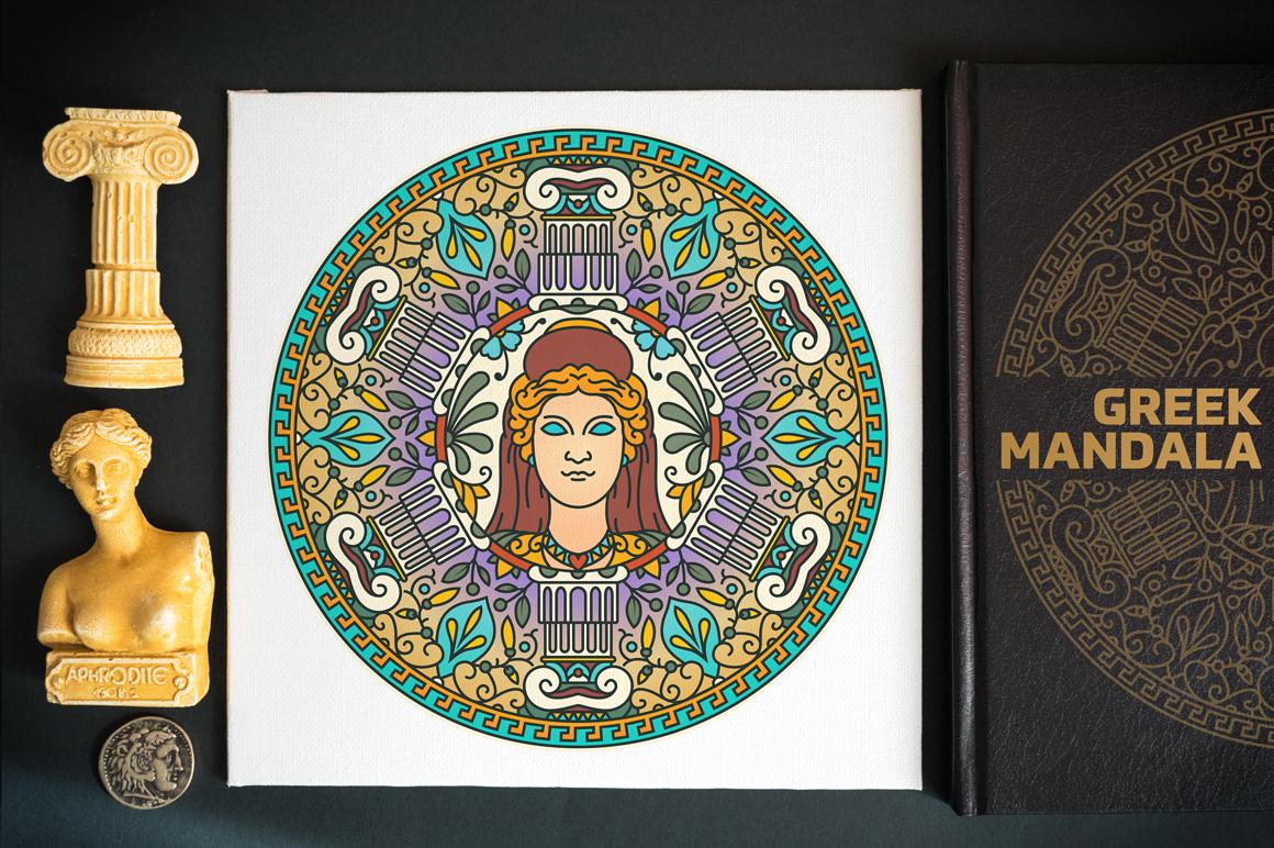 Seasonal and Holiday Mandalas example image 3