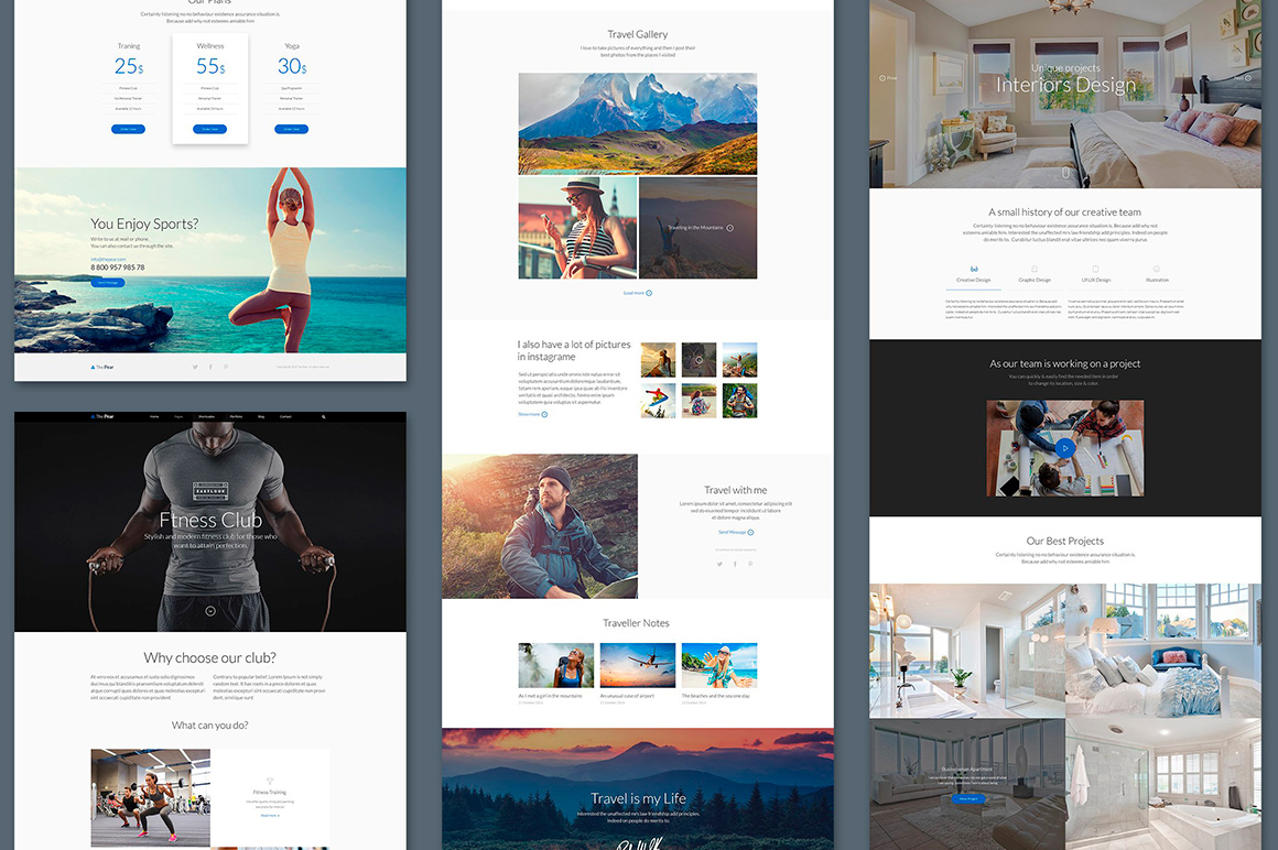 The Pear Starter Web UI Kit example image 5