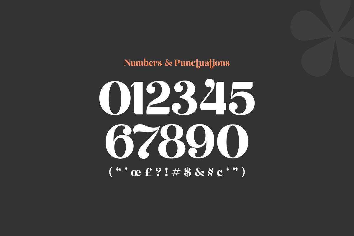 Emirates - Beautiful Curved Font example image 14