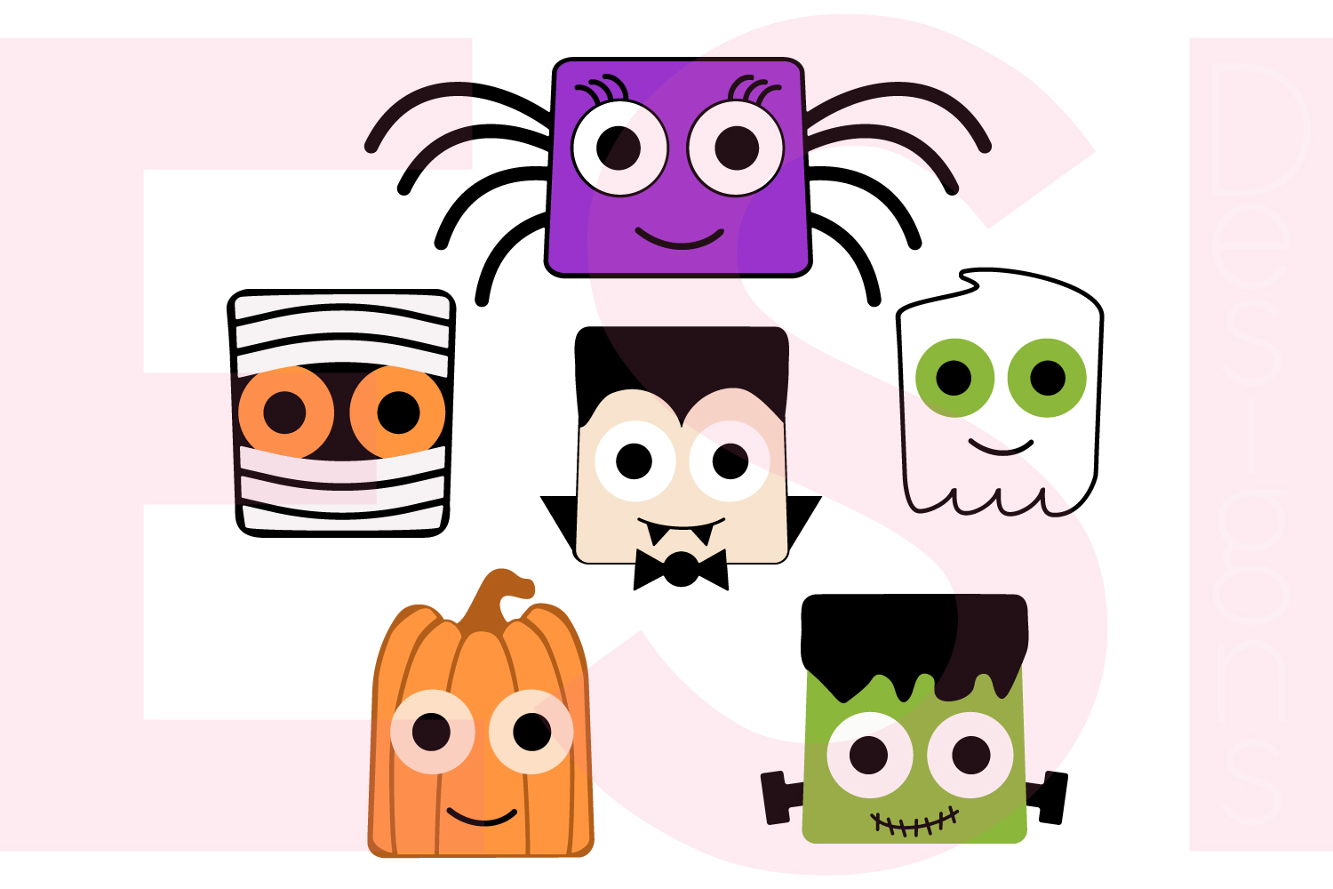 Halloween and Fall Designs Bundle -SVG DXF EPS & PNG example image 12
