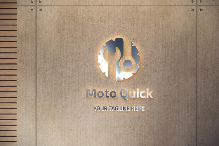 Car Engine Mechanic Logo example image 4