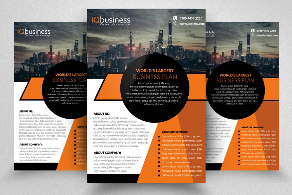 10 Multi use Business Corporate Flyer Bundle 10 example image 4