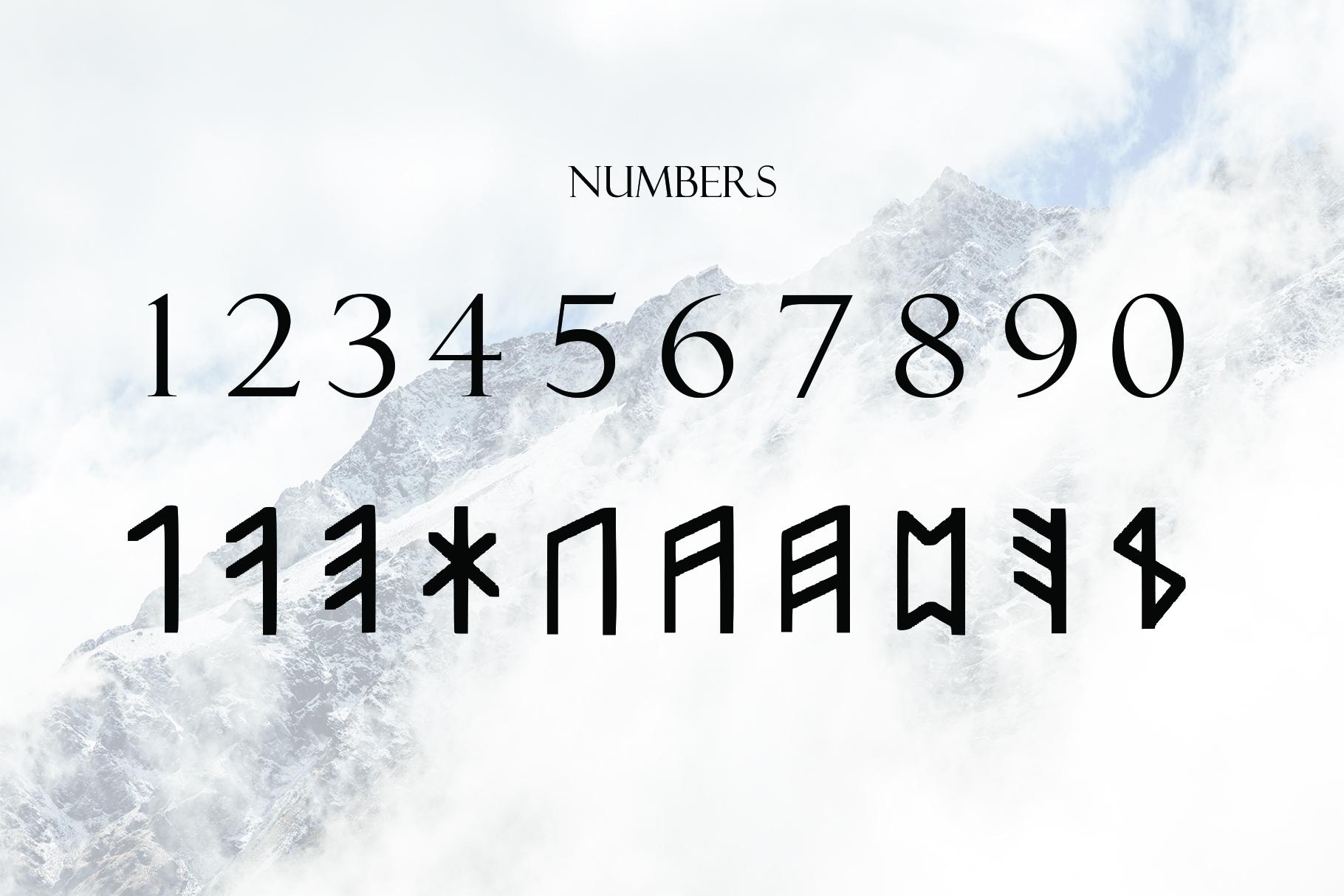 Norse Elder Futhark Typeface example image 3