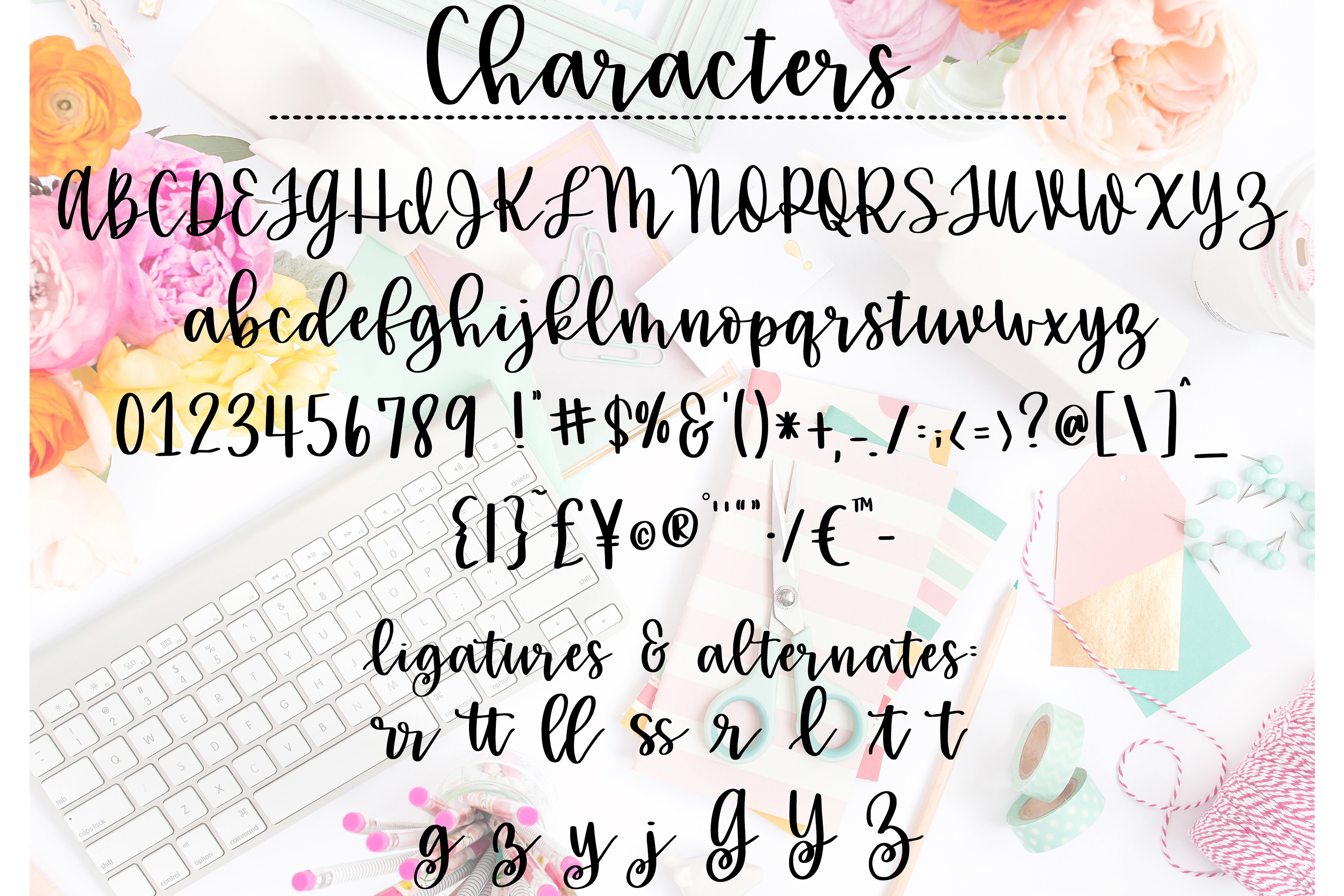 Girlie Script example image 5