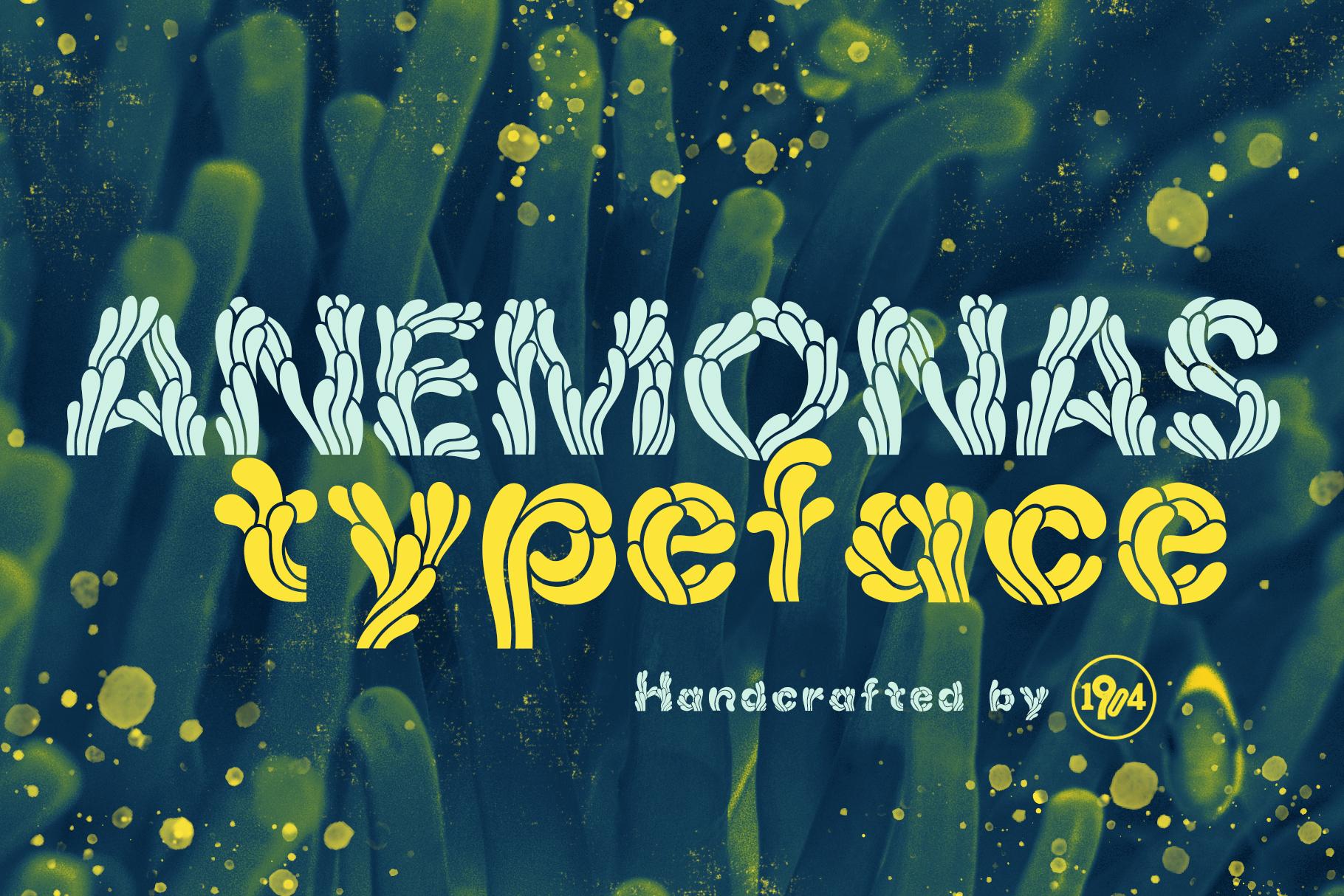 Anemonas Typeface example image 1