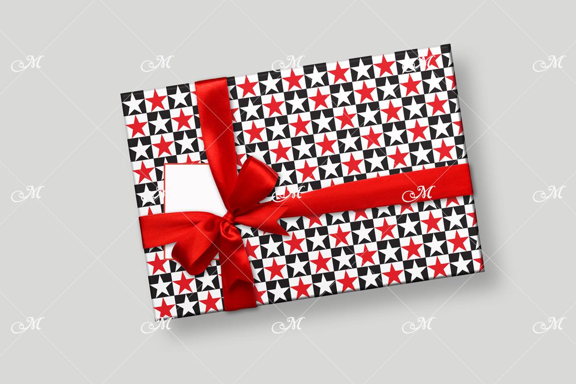 Smart Gift Box Mockup. Top view example image 5