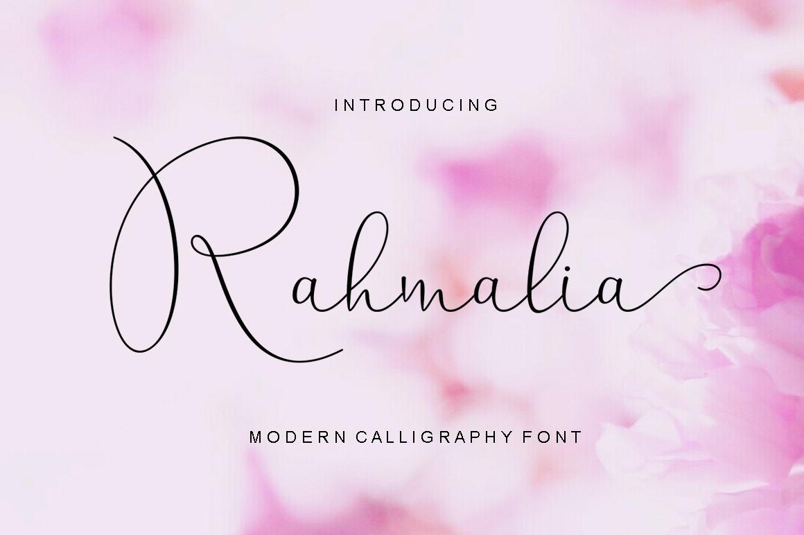 Calligraphy Script Bundle example image 10