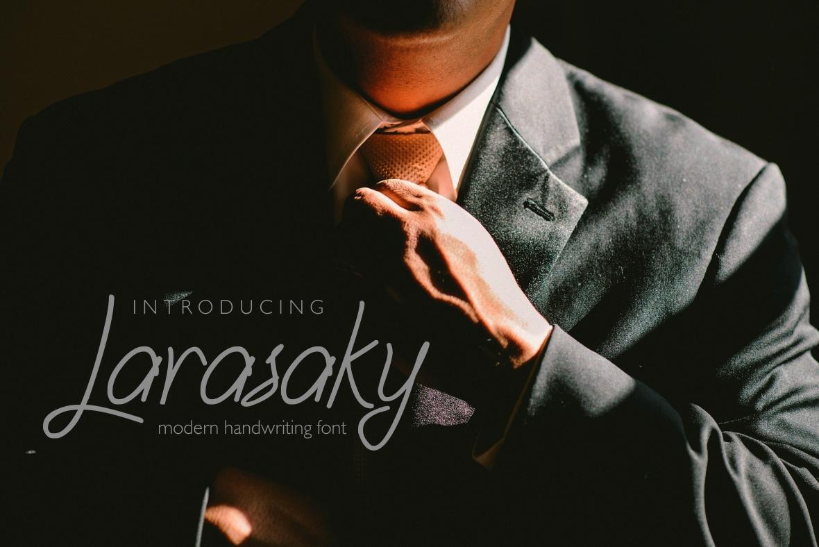 Larasaky | Handwriting Font example image 1