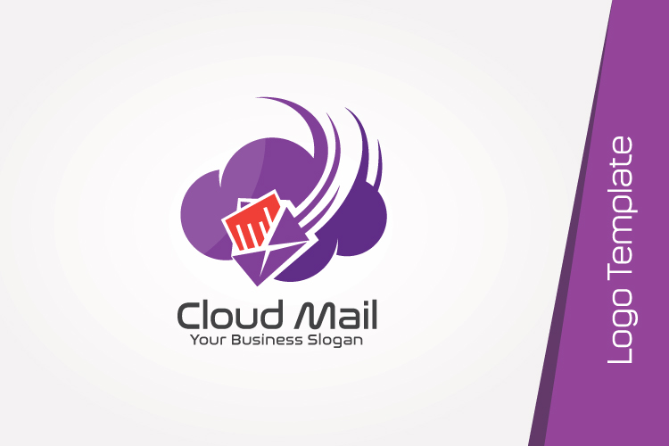 Cloud Mail Logo Template example image 4