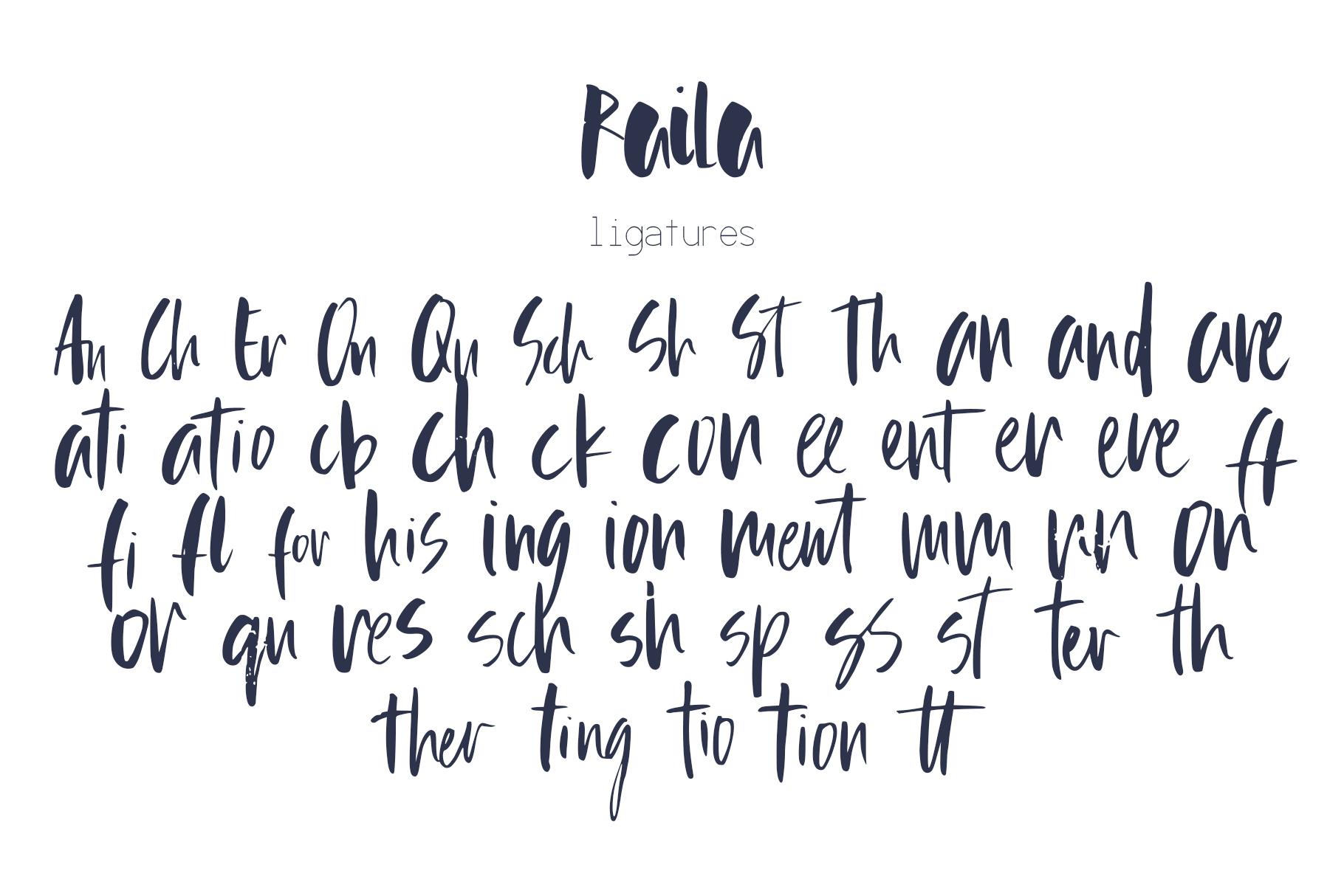 Raila Font example image 10