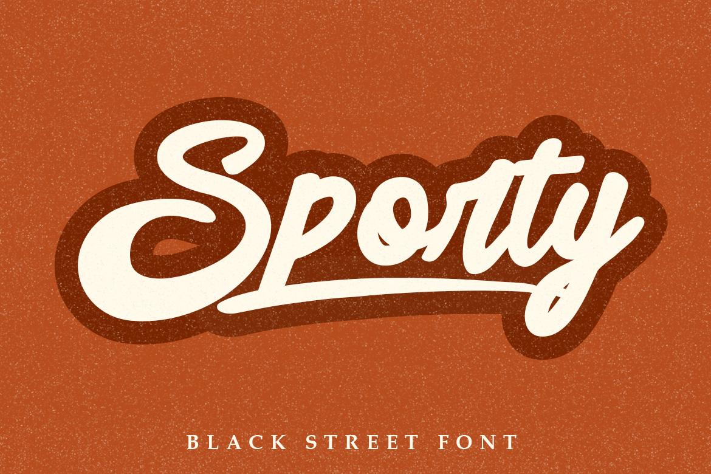 Black Street Font example image 2