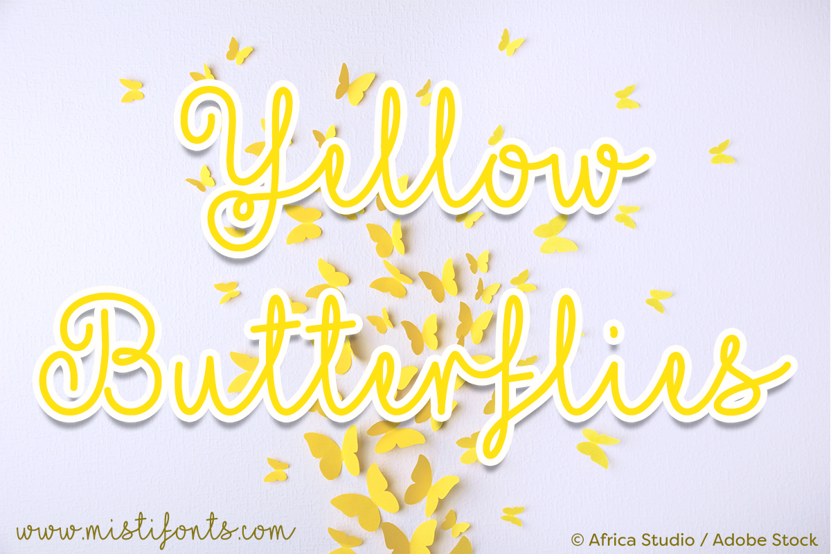Yellow Butterflies example image 1
