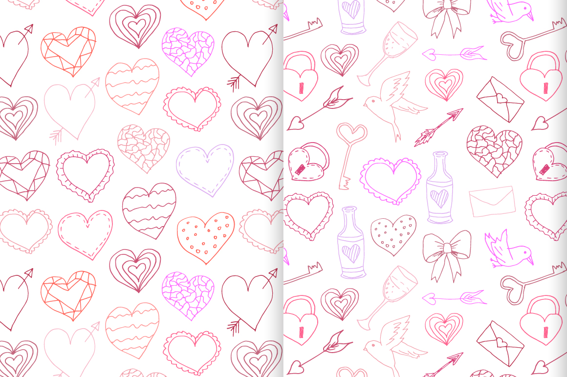 Valentine's Vector Collection example image 6