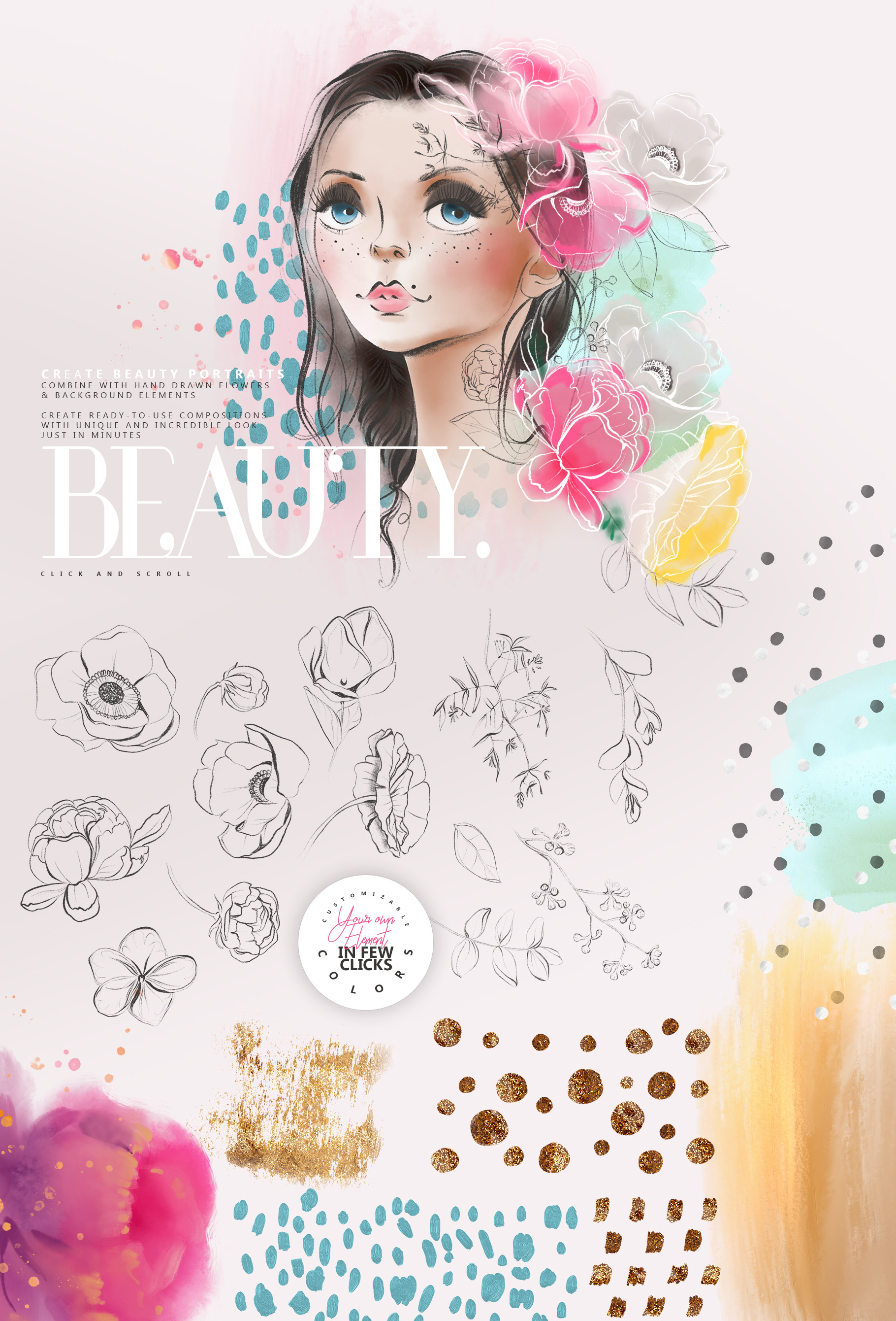 Beauty Portrait Creator example image 2