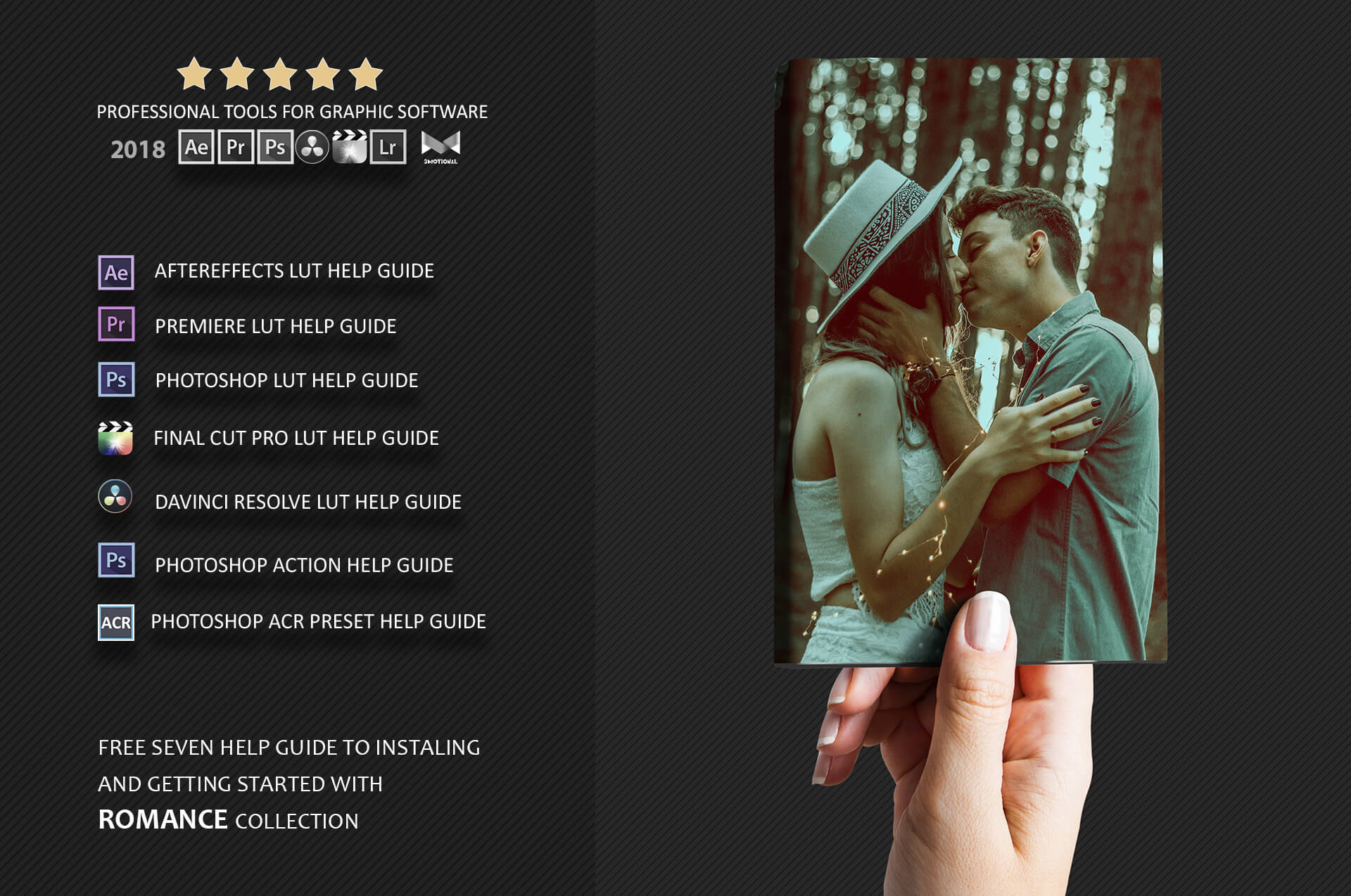 Romance Cinematic Color Grading Photoshop action Filter example image 3